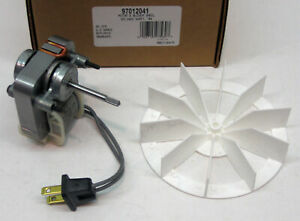 97012041 Broan Nutone Bathroom Vent Fan Motor Wheel 50 Cfm Repl 99080245