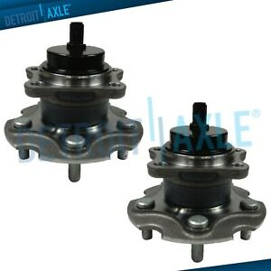 Both 2 Rear Wheel Hub Bearing Assembly For Lexus Hs250h Scion Tc Toyota Rav4