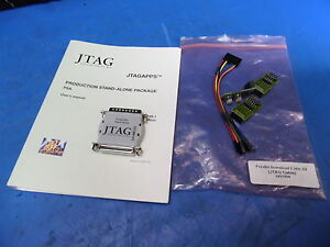 Jtag Production Stand alone Dongle Ieee 1149 W Manual And Jtag Cable Pcb 0431004