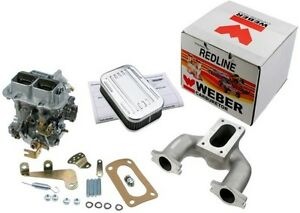 Weber Carburetor Kit Austin For Mini Mg Midget 948 1098 Manual Choke 32 36 Dgv