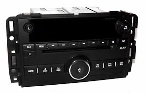 07 14 Chevy Truck Radio Cd Player Mp3 Aux Input 20918429 Plastic Unlocked