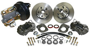 1968 1969 1970 Ford Mustang Disc Brake Conversion Kit V 8 Drum