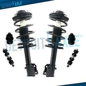 Brand New 6pc Complete Front Suspension Strut Set For Dodge Chrysler Plymouth