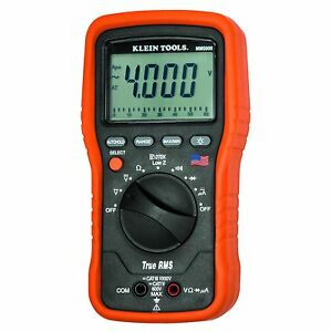 Klein Tools Mm5000 Electrician s True Rms Multimeter Trms made In Usa
