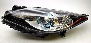 New Oem 2012 2013 Mazda 3 Left Xenon Headlamp Blue Projector Bezel Canada Only