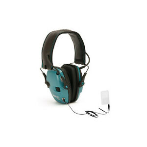 Howard Leight Impact Electric Earmuff Folding Teal