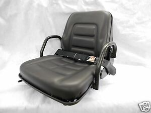 Fold Down Seat Forklift Clark Cat Hyster yale toyota Crown Hip Restraint ge