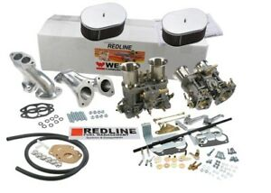 Weber Carburetor Kit For Vw Bug Type 1 Dual 48 Idf Weber