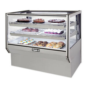 Leader 48 Commercial Counter Bakery Display Non refrigerated Case dry Unit