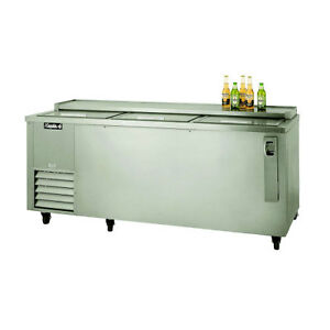 Leader 72 Commercial Refrigerated 3 door Underbar Beer Cooler self contained