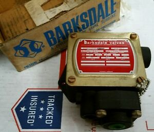 new Barksdale Valves Hi p Pressure Switch P1h j600ss t 2000 Psi Ships Free