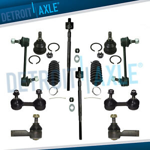 New 12pc Complete Front Rear Suspension Kit For Hyundai Elantra And Tiburon