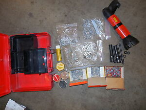 Hilti Dx 600n Heavy Duty Powder Actuated Nail Stud Gun Kit Combo Nice 471