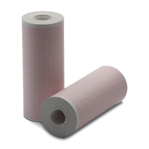 Physio control 100mm Printer Paper 5 Rolls Gridded For Lifepak 12 15