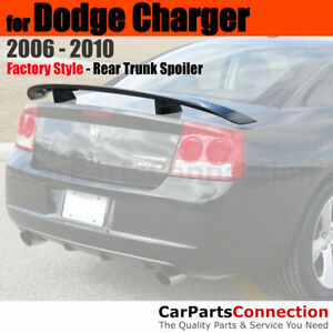Primer Abs Rear Trunk Spoiler Wing For 2006 2010 Dodge Charger Daytona Style