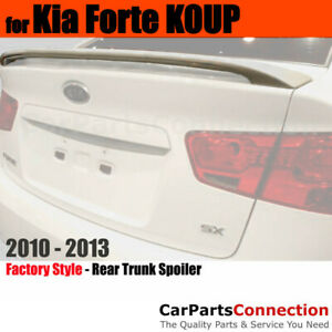 Primer Abs Rear Trunk Spoiler Wing For 10 13 Kia Forte Koup Coupe And Sedan