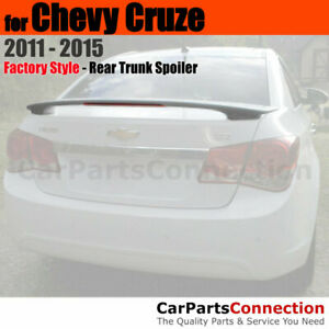 Primer Abs Rear Trunk Spoiler Wing For 11 15 Chevrolet Chevy Cruze 2 Post