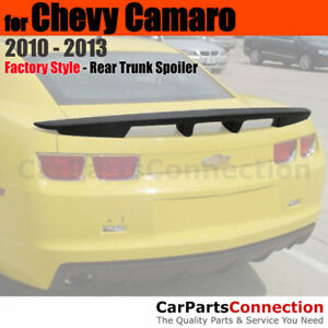 Primer Abs Rear Trunk Spoiler Wing For 2010 2013 Chevrolet Chevy Camaro 4 Post