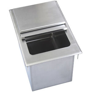 Drop In Ice Bin W Lid 28 X 18 Bbk dibl 2818