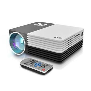 New Digital Multimedia Projector Hd 1080p Up To 120 Inch Display Mac Pc
