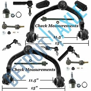 New 14pc Front And Rear Adjustable Suspension Kit For Expedition Navigator