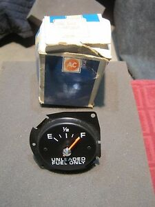 Nos Gm Ac Delco Gas Fuel Gauge 1 6432015