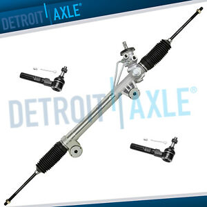 Power Steering Rack And Pinion Assembly new Outer Tie Rods Silverado Sierra 2wd