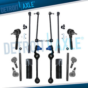 Chrysler 300m Concorde Dodge Intrepid Lower Control Arm Tierod Sway Bar 12pc Kit