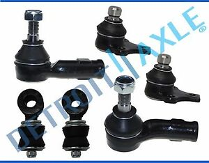 New 6pc Front Suspension Set For Volkswagen Cabrio Corrado Golf Jetta