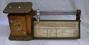 Vintage Triner Airmail Postage Scale 2 Lb Capacity
