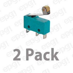 Normally Open normally Closed roller Ball Micro Switch 10a 125v msw13g 2pk