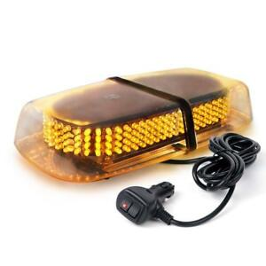 240 Led Amber Safety Warning Flashing Strobe Light Snow Tow Plow Service Truck