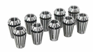 10 Pcs 1 4 Er16 Collet Set X 0 0005 1625 0014x10
