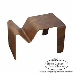 Quality Walnut Modern Design Office Magazine Table