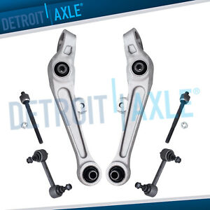New 6pc Complete Front Rear Suspension Kit For Infiniti G35 Nissan 350z Rwd