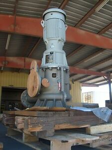 10 Hp Industrial Warren Centrifugal Booster Irrigation Water Pump 6 X 4