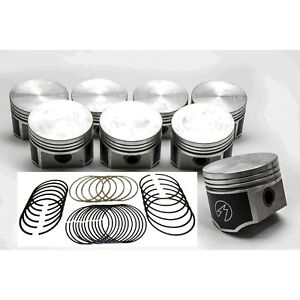 Speed Pro Chrysler dodge 440 Forged Flat Top 4 barrel Pistons moly Rings Kit 30