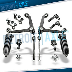 12pc Front Control Arm Ball Joint Tierod Kit 2004 2007 2008 2009 Dodge Durango