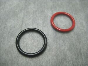 Power Steering Pump Inlet Outlet O Ring Seals For Honda 2 Pc Kit Ships Fast
