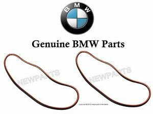 For Bmw E46 3 series Set Of Left Right Headlight Lens Seal Gaskets Genuine