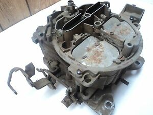 1974 1977 Chevy Pickup Truck Carter Quadrajet 350 4 Barrel Carburetor 1975 1976