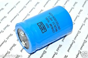 1pcs Nippon 36dy 12000uf 12000 f 75v Screw Terminal Electrolytic Capacitor