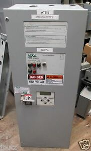 Asco 7000 Series 150a 208y 120 60 Hz 3 Ph Automatic Transfer Switch