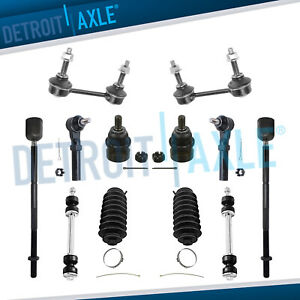 New 12pc Complete Front Rear Suspension Kit For 1999 2004 Ford Mustang