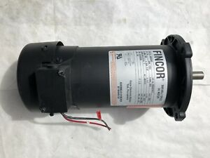 New Boston Variable Speed Dc Motor 1 2hp 1725rpm 180 Fincor 5002693 hj