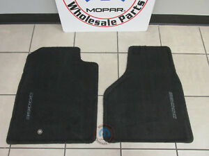Dodge Ram Slate Gray Production Style Front Floor Mats New Oem Mopar