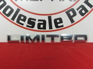Dodge Ram Limited Emblem Nameplate limited New Oem Mopar