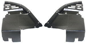 New Set Of 2 Front Air Dam Deflector Valance Lh Rh Side For Chevy Camaro Pair