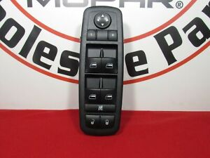 Dodge Chrysler Jeep Master Power Window Switch New Oem Mopar