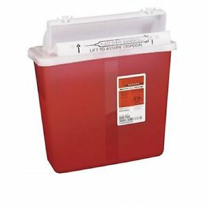 Sharps Container Sharpstar 5 Quart Red In room 8507sa Case Of 20